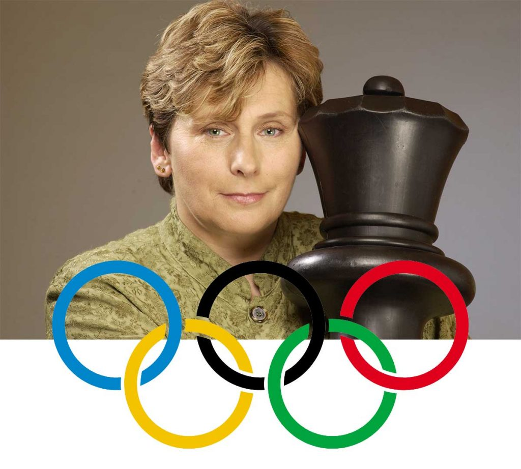 Ivona Jezierska Olympian and womes FIDE master, teacher and active Chess player