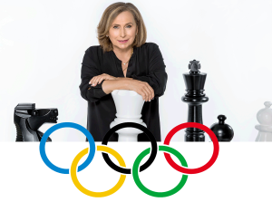 Two-Time Olympian Ivona Jezierska at Chess4SuccessLA!
