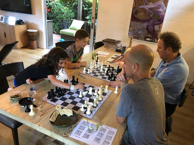 Ivona Jezierska Teaching Chess with families